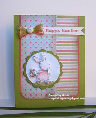 Easter card  ~maybe with a large flower, and a cross~