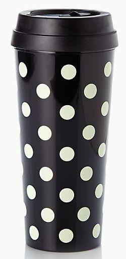 Darling polka dot thermal mug - take 30% off with code: F14FFUS http://rstyle.me/n/ruym5nyg6