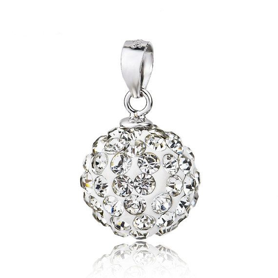Sterling Silver Pendant Style 27 Tiny Crystal Ball by ATHiNGZ, $4.99