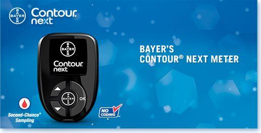 Receive #FreeSample #Bayer EZ CONTOUR® NEXT METER Blood Glucose #Monitoring System.