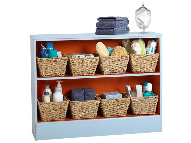 For the Bathroom - DIY Home Storage: Cabinets and Shelving on HGTV