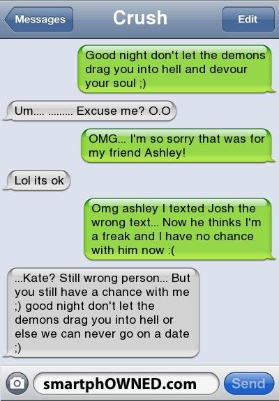 Wrong person - - Autocorrect Fails and Funny Text Messages - SmartphOWNED
