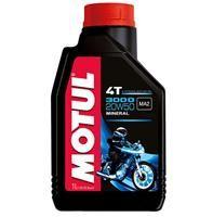 Λάδι Motul για 4-χρονους κινητήρες moto 3000 20W50 (Mineral) 1lt.