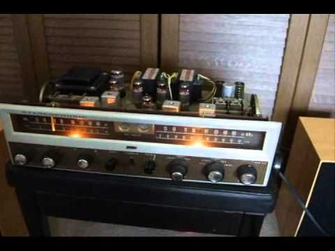 TRIO(Kenwood) model W-25, Tube TRI amplifire with 2ch AM/SW tuners. Antique stereo receiver, made in Japan at 1964. Replaced capacitors two years ago. AM noi...