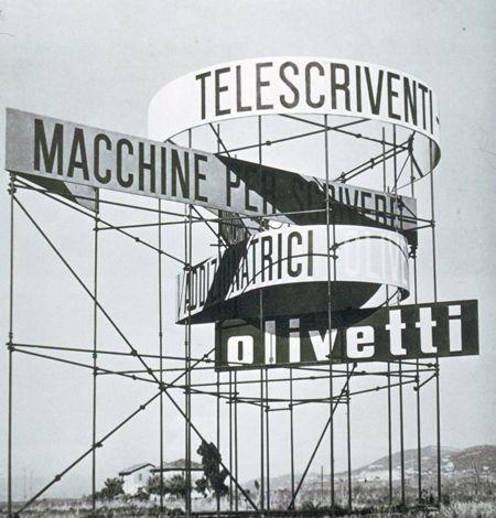 Giovanni Pintori, Olivetti poster, 1954 #grafica #design #allestimenti