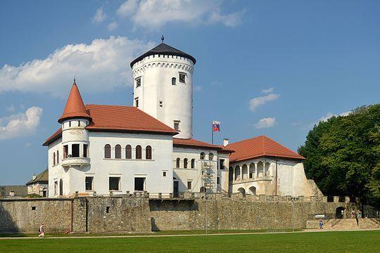 Budatín Castle --- Address: Topolova 1, 010 03 Žilina-Budatín, Slovakia Height: 320 m