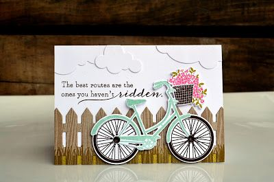 The Best Routes Card by Jess Witty for Papertrey Ink (May 2013)
