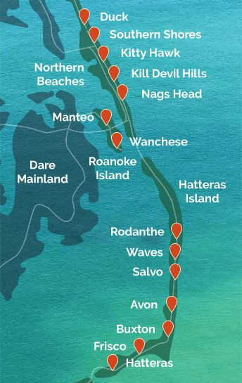 Best 25 North Carolina Beaches Map Ideas On Pinterest Map Of Nc Outer Banks North Carolina