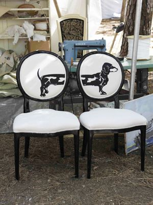 These amazing chairs would be a great addition to my living room!! #CLFair Country Living Fair - To Buy at Antique Fair
