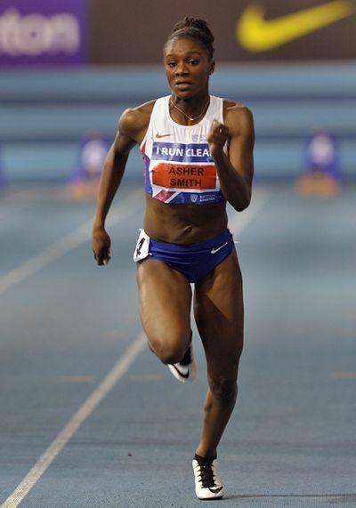 Dina Asher-Smith, Women 60 Meters,  Copyright B&O Press Photo