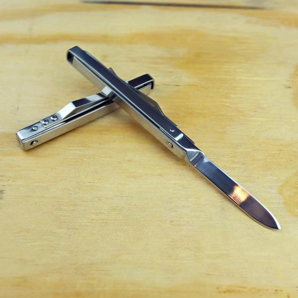 Stainless Steel Folding Penknife