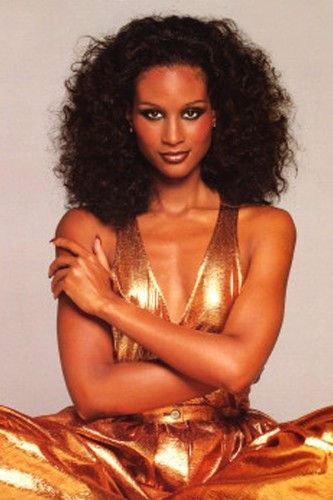 Beverly Johnson  As the first black model to ever grace the cover of American Vogue, Beverly Johnson showed women everywhere that natural hair was chic and sophisticated, too. Her hair was so revered, she actually created her own line of hair extensions. Ironic, no?     Photo: Courtesy of Buddha Records    jw