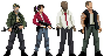Pixel art of movies, shows, and games by Matt Frith - Imgur