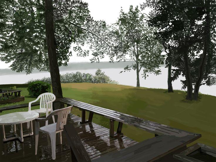 Wet Deck (Kenosee Lake)