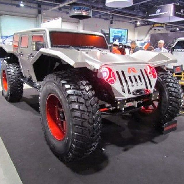 Philadelphia Jeep Dealer Sema2014 The Legend Was A Standard