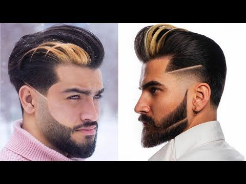 new hairstyles for men 2020  beard with hairstyles for