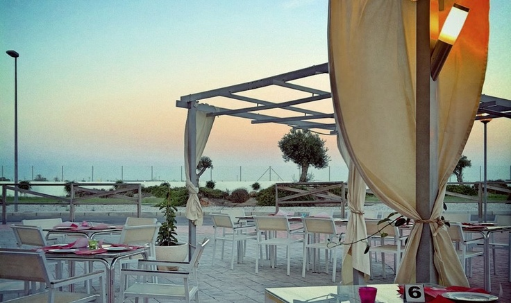 Detalle de la Terraza de Verano del Hotel Spa Torre Pacheco en Murcia  a solo 4km de las playas del Mar Menor http://www.hotelspa-torrepacheco.com/esp/