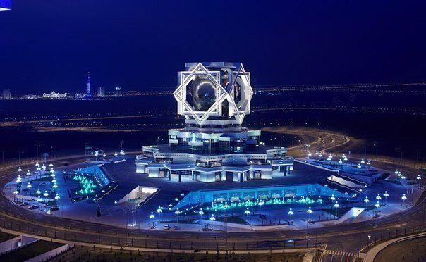Дворец бракосочетаний. Ашхабад, Туркмения.