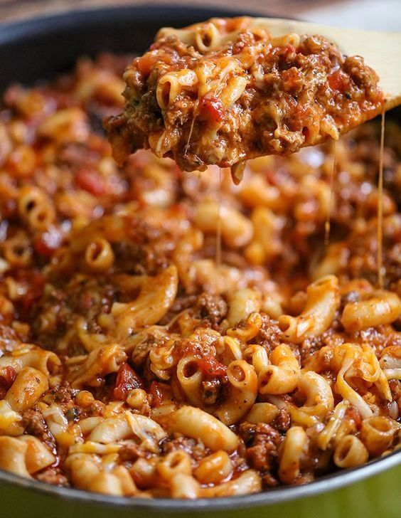 Awesome Cheesy Beef Goulash Recipe. Classic dishes made simple. Daily simple ideas for everyone