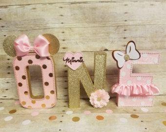 Pinata oro e rosa partito di oro numero di HeidiPartyCreations