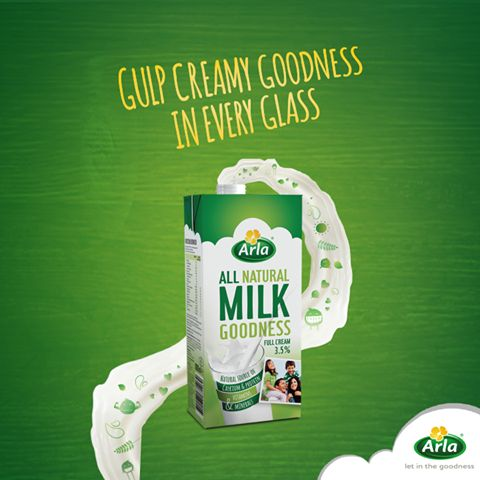 Our Full Cream UHT Milk is tasty and creamy and provides the whole family with natural goodness every day.