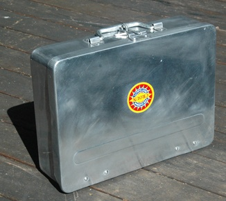 Handmade aluminium Indian suitcases - great for storage and looking cool. Don't tell the hipsters - become one.