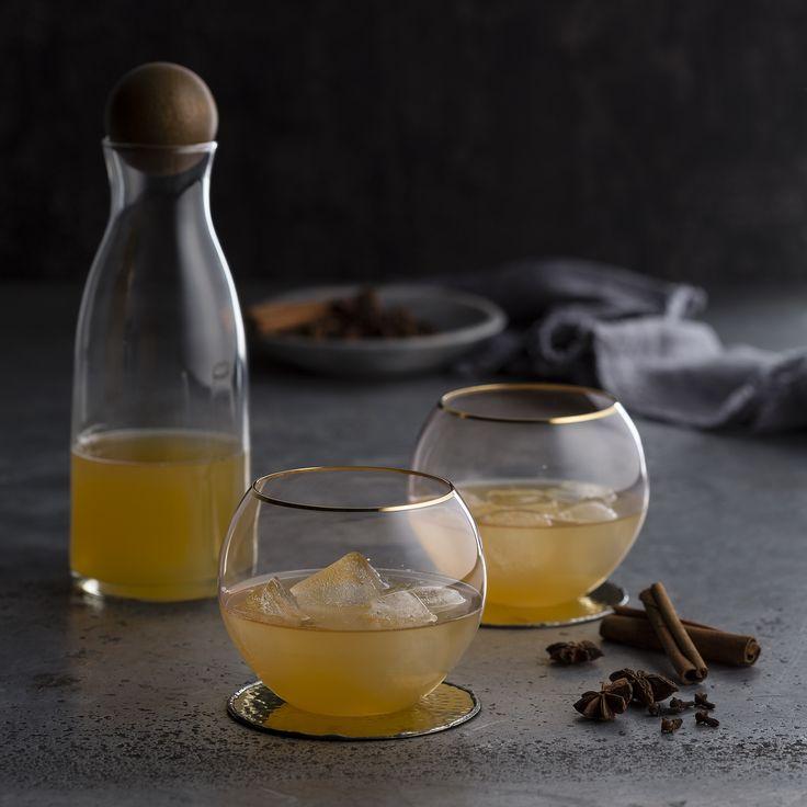 "Thermomix   Spiced apple liqueur   Entertaining with Dani Valent cookbook + recipe chip   ""Romantic menu plan""  "