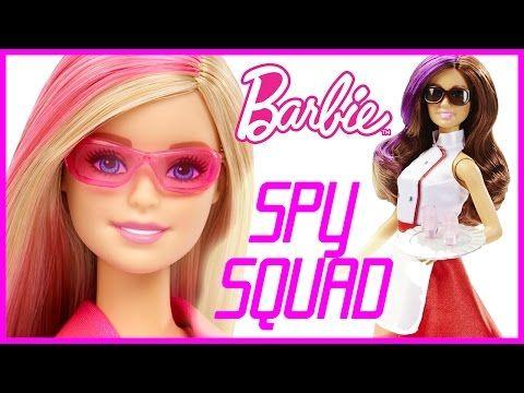 BARBIE SPY SQUAD MOVIE AND TERESA DOLLS