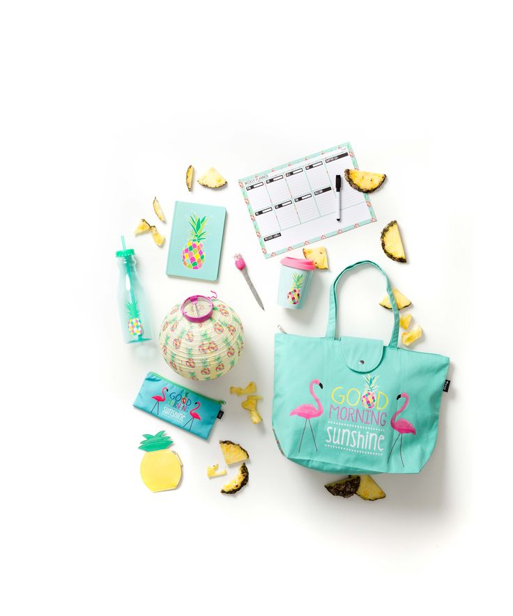 Flamingos & Pineapples Fruit Collection- Gifts