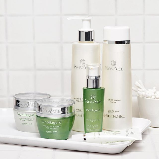 Introducing an advanced solution for a wrinkle-free, beautiful skin... NovAge Ecollagen- a powerful skin care range by Oriflame to settle those signs of ageing, just right. #PerfectionIsYou
