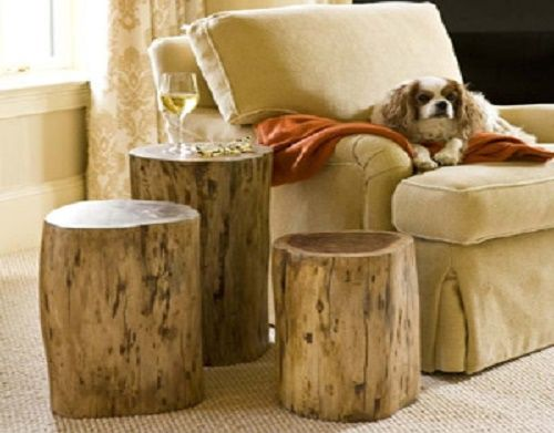 tree stump side table tables natural uk pottery barn trunk coffee for sale canada