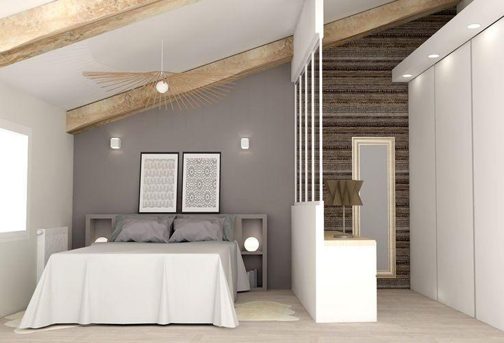 Jeux de niveaux - Plateau - loft - atelier - aménagement - rénovation - maison - agence LANOË Marion - architecture intérieure - décoration Lyon Rhône-Alpes