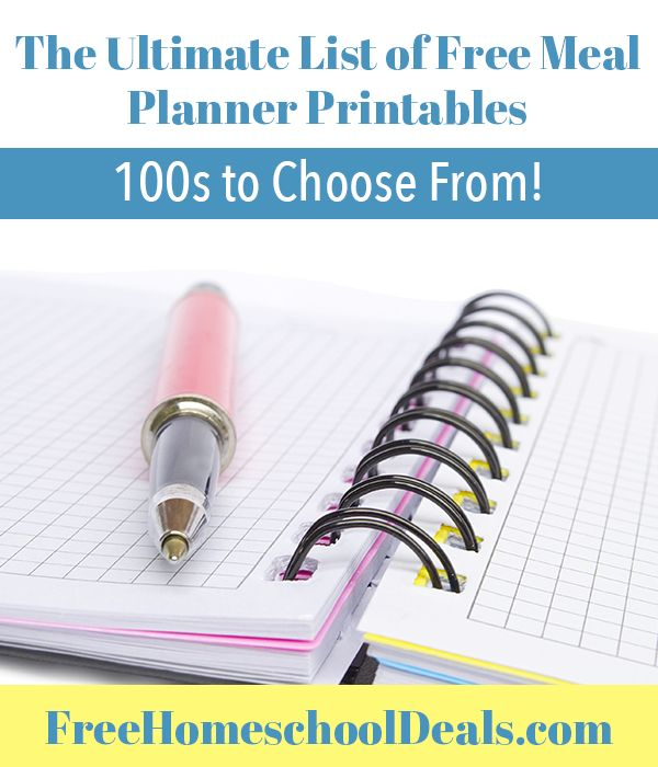 Meal planner printable hakkında Pinterestu0027teki en iyi 20+ fikir - printable meal planner