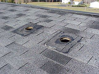 How to patch a small hole in an asphalt shingle roof
