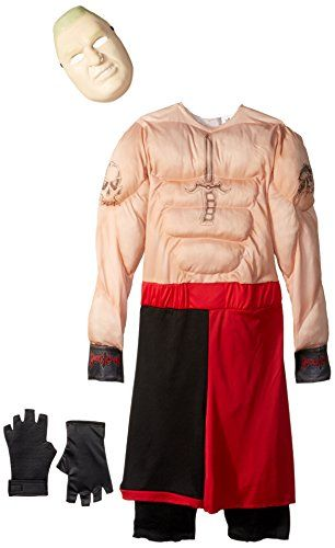 Disguise Brock Lesnar Classic Muscle WWE Costume, Large/10-12