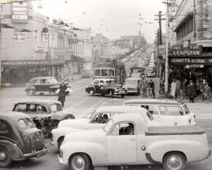 Camberwell Junction vs. The Lone Policeman c1950s.