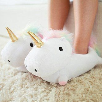 Pantuflas De Unicornio Que Se Iluminan Al Caminar