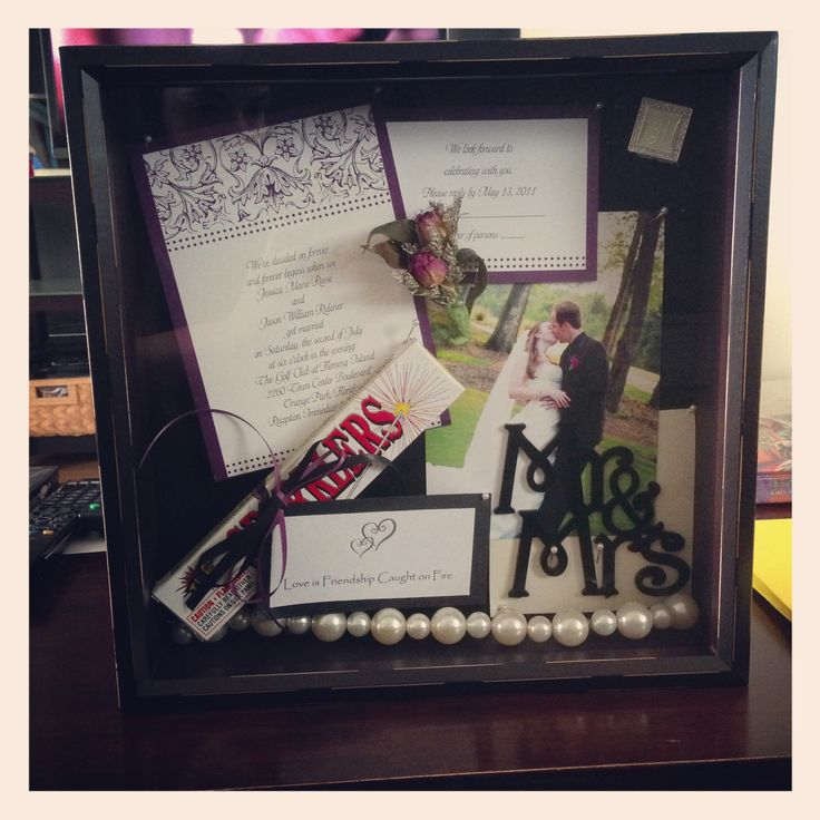 wedding shower poem ideas%0A Wedding shadow box