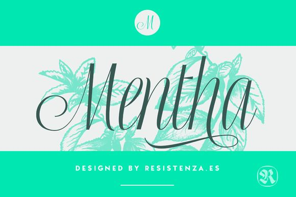 Mentha by Rsz Type Foundry on @creativemarket