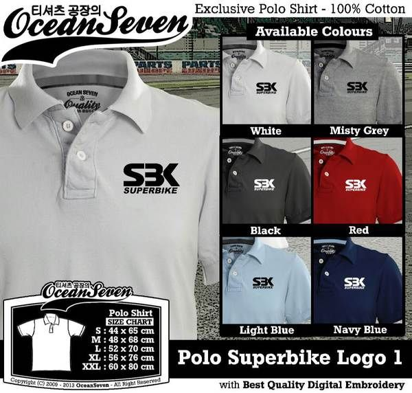 Polo Shirt - Polo Superbike Logo 1