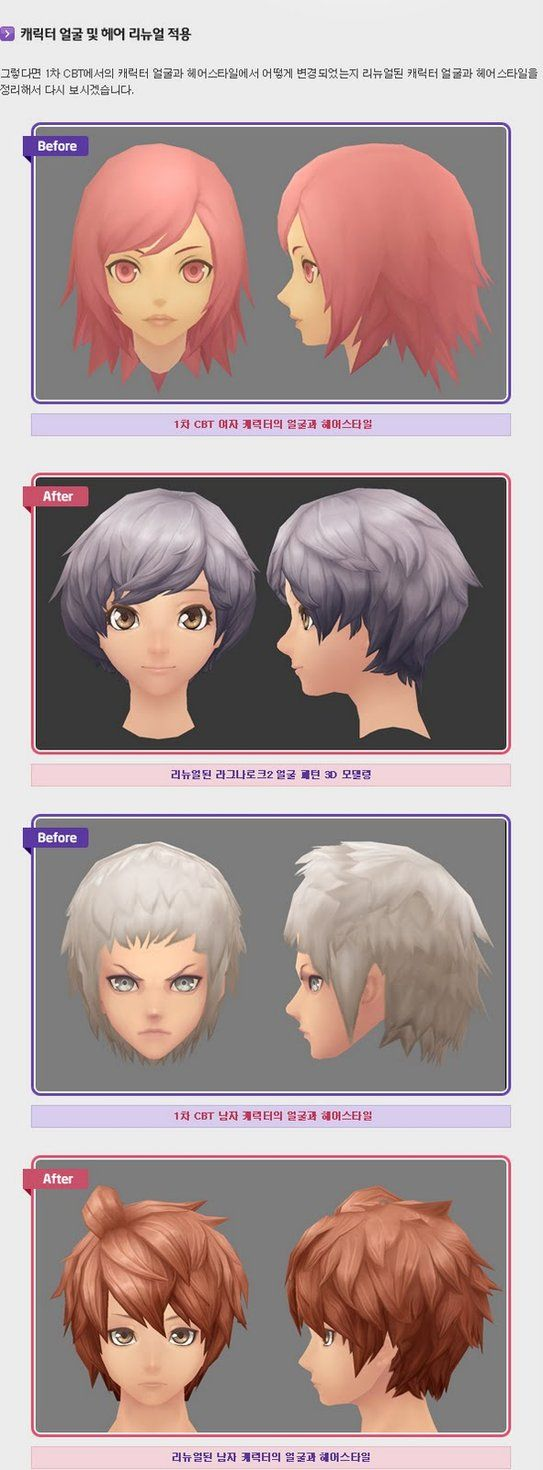 Anime styled heads reference 3. by Rettosukero on DeviantArt
