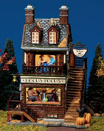 halloween village houses helgas house of fortunes utube halloween new department dept 56 sv