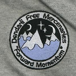 Dendarii Free Mercenaries patch. Lois McMaster Bujold love love love her Miles Vorkosigan series