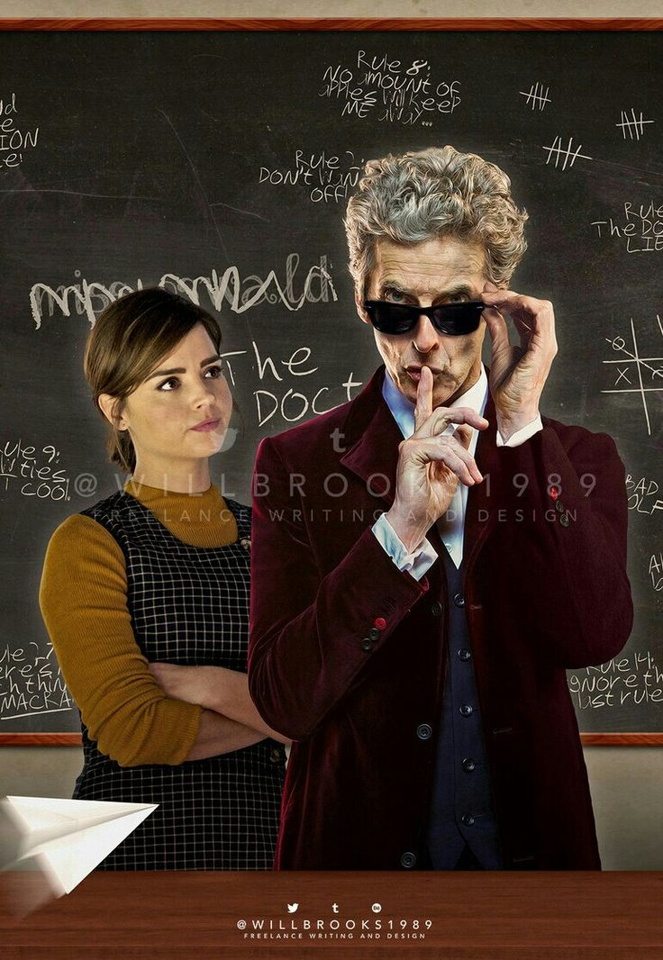 DOCTOR 12 AND CLARA OSWALD