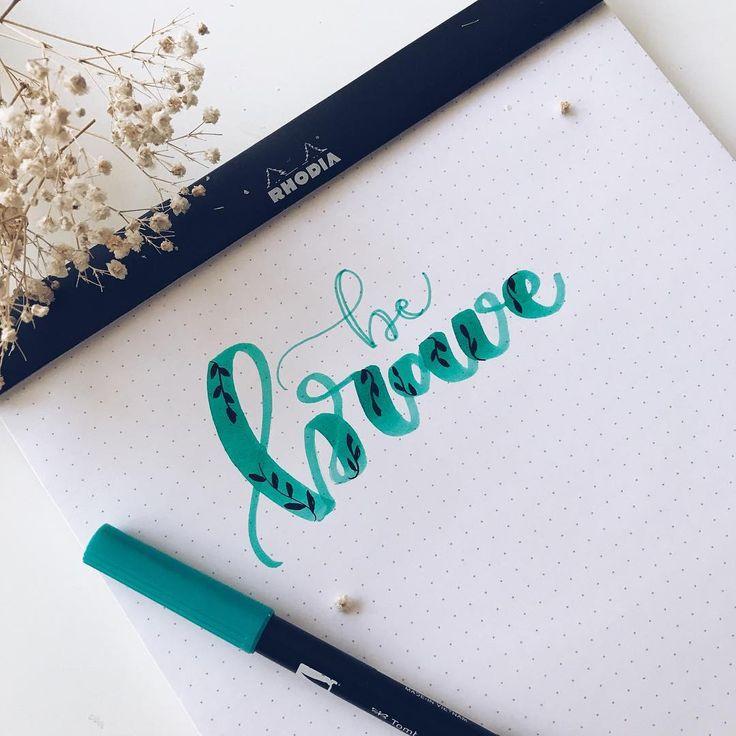 "2,611 Me gusta, 35 comentarios - ~ Lettering & Bullet Journal ~ (@the_flower_journal) en Instagram: ""Ey valientes, ¿cómo va el fin de semana? 😊🌾"""