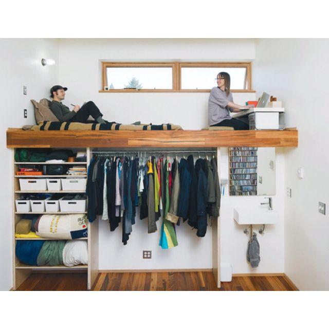 Small spaces - cama para pequenos espaços