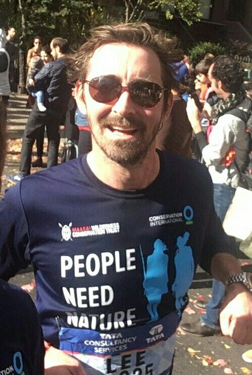 Lee Pace in The New York City Marathon November 5 2016