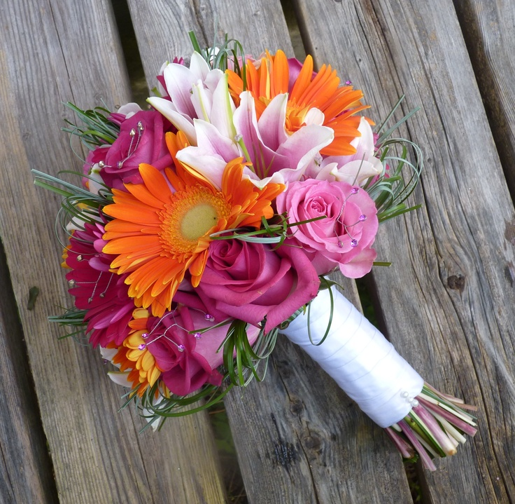 oranges, pinks and whites - oh my!