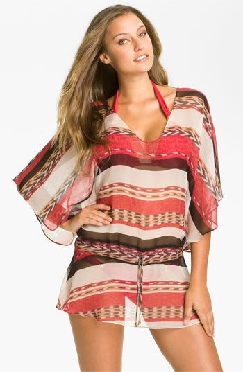 ViX Swimwear 'Angola' Silk Tunic Cover-Up available at #Nordstrom