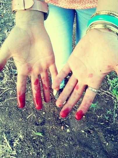 My red hand
